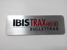 laser cut large size thickness screen printing aluminum emblem