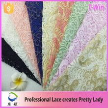 lace material/stretch crochet nylon lace fabric/dry lace fabric