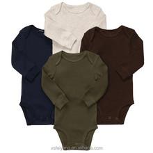Wholesale 100 organic cotton plain infant clothing