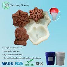 Food grade liquid silicone for sugar mold making, cake mold making