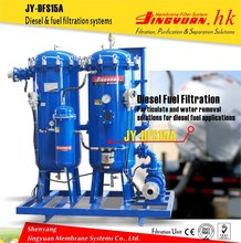 High performance marine oil water separator for gas station with deep filtration
