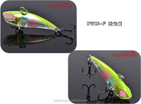 floating minnow fishing lure hard minnow with VMC hook ABS bonic baits
