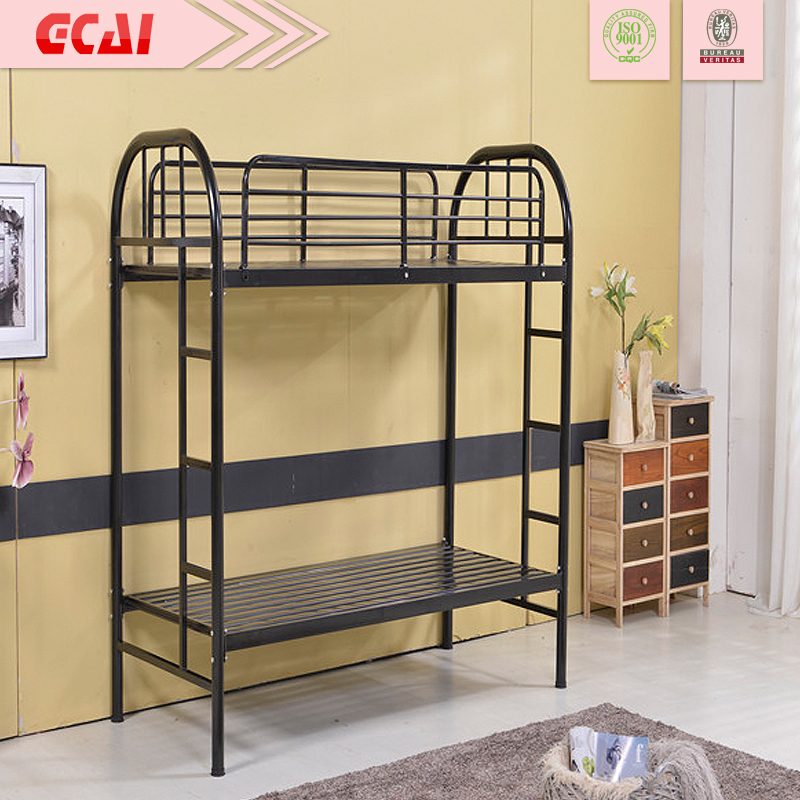 Simple Modern Metal Beds : ... strong simple design High loading capacity bed double deck iron bed