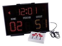 Single side basketball scoreboard