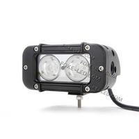 cheap 12v car light bar 5 inch 20w offroad led light bar