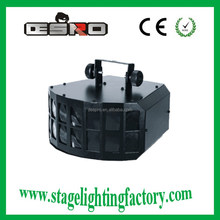 double-deck 20w rgbw led dj lights butterfly battery stage light 2015 new product