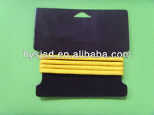 High quality 4mm round elastic hair band with metal free