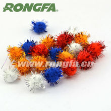 Other Education DIY craft Accessoires Metallic Pompoms