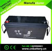 Kanglida 12v 150ah Valve Regulated Lead-Acid Battery sealed lead acid battery