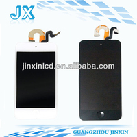 Full arrival new oem assembly testing guangzhou white and black color for ipod touch 5 lcd digitizer