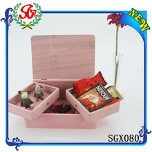 2015 New Finished Best Popular Folding Wooden Box