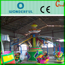 New design playground funfair swing amusement ride double flying chairs for sale
