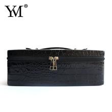 2015 Wholesale fashional customized beauty leather hard side cosmetic case