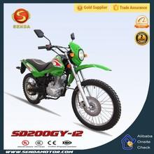 Dirt Bike 4 Stroke Engine Type Mini Pocket Bike Motorcycle SD200GY-12