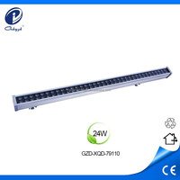 outdoor 24W linear led wall washer work light with CE