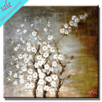 Dropship modern flower handmade oil painting on canvas