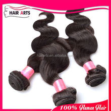 .Can last up to 1 year by right caring brazilian body wave human hair 16 inch hair weft