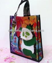 2014 matt laminated recycled pet rpet tote bag