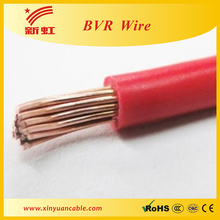 China Manufacturing 2.5mm flexible electric wire cable hs code