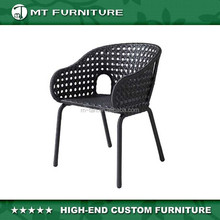 cheap wicker rattan furniture outdoor restaurant dining chairs