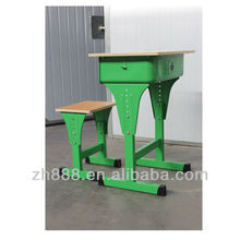 Environmental-Protection School Steel Desk and Chair