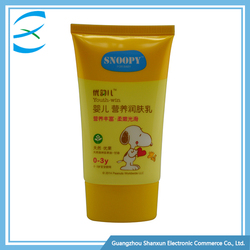 Colorful Print Round Tube Hand And Foot Whitening Cream Tube