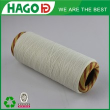 Ne20s regenerated poly blended loom knitting yarn