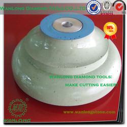 "high quality diamond profile wheel for granite processing,diamond profile wheel 3/8"" radius for granite grinding"