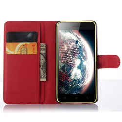 Magnetic PU Leather Flip Folio Wallet Case Cover For Lenovo S60/S60T