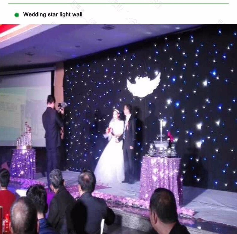 Diy star starry wall led optic fiber light kits for party and 06 1g junglespirit Images