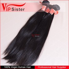 Full cuticle attached in same direction 100% virgin raw unproessed brazilian straight virgin hair