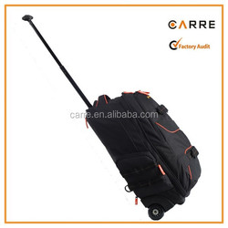 outdoor travel sports rolling wheeled trolley backpack