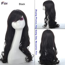 Hot selling style high quality good quality high temperature synthetic wigs