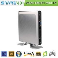 Super low consumption Pentium Bay Trail mini pc K664 Quad core 2.4Ghz- 2.6Ghz, 4 Threads , 2*USB 3.0 4*2.0 USB