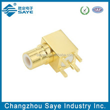 Bt43 rf connector bulkhead