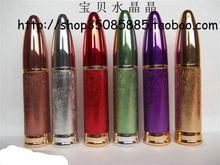 L54 10ML Wholesale Colored Aluminium With Bullet Cap Glass Refill Empty Perfume Aluminium Atomizer Spray Bottle