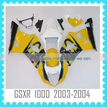 Aftermarket ABS Custom motorcycle body work for SUZUKI GSXR1000 K3 2003 2004