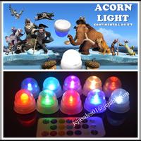 JEJA Fairy acorn led light - 10 Pack - RGB - Water Resistant LED Light