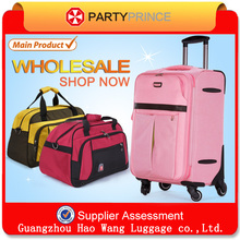 2015 Newest Classic Polyester 20/24 inch Trolley Suitcase Soft luggage Bag