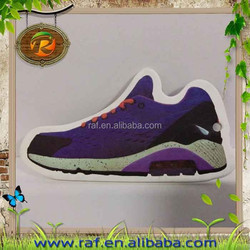 New customized made factory promotional shoes shape car air fresheners 2015 style