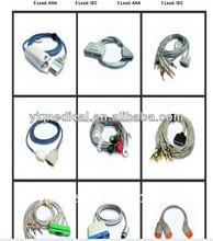 fukuda denshi ecg cable 5 lead ecg cable