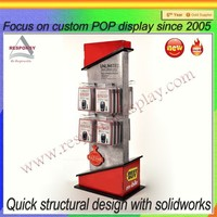 Wood PVC Materials Merchandise Stands Accessories Retail Store Display