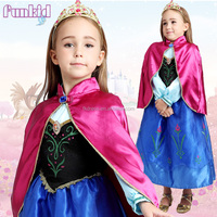 OEM and in store wholesale princess frozen ANNA costume for christmas