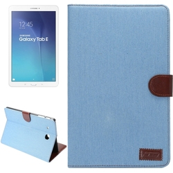 Fast delivery Denim Texture Leather case cover for Samsung galaxy tab E 9.6 T560