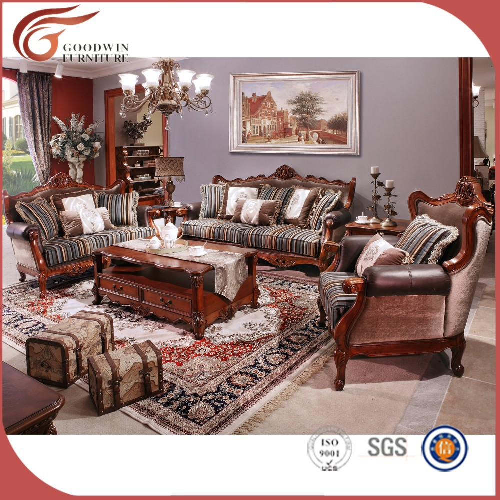 Wholesale 2015 New Design Sofa Furniture Hand Carved