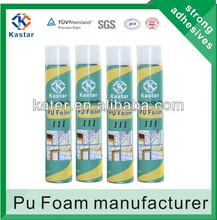 Soundproof polyurethane spray foam insulation, pu foam