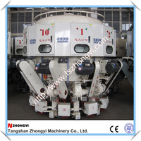 Automatic Rotary powder packing machine with 10 spouts