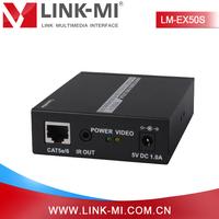 China Market LINK-MI OEM LM-EX50s 1080p 3D 38Khz remote IR 50m HDMI Extender with Audio
