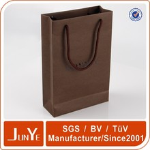 custom size luxury brands paper bag for clothing company