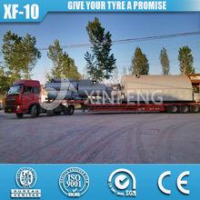 XF-10 50% High oil yield hot sale latest design scrap cut tyre